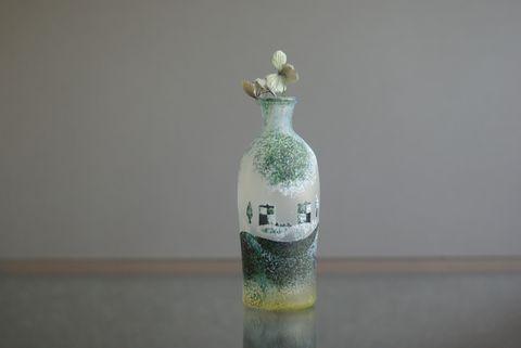 橋村野美知ガラス展
