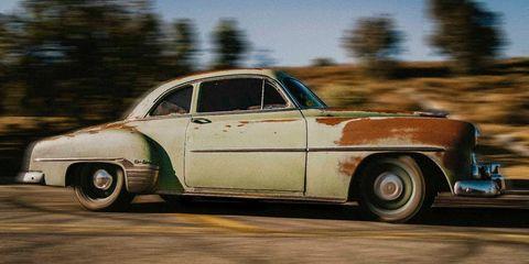 Land vehicle, Vehicle, Car, Motor vehicle, Classic car, Coupé, Classic, Sedan, Compact car, Hardtop,