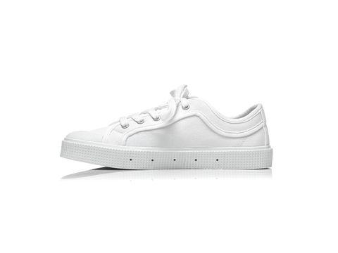 Footwear, White, Sneakers, Shoe, Plimsoll shoe, Outdoor shoe, Sportswear, Walking shoe, Athletic shoe,