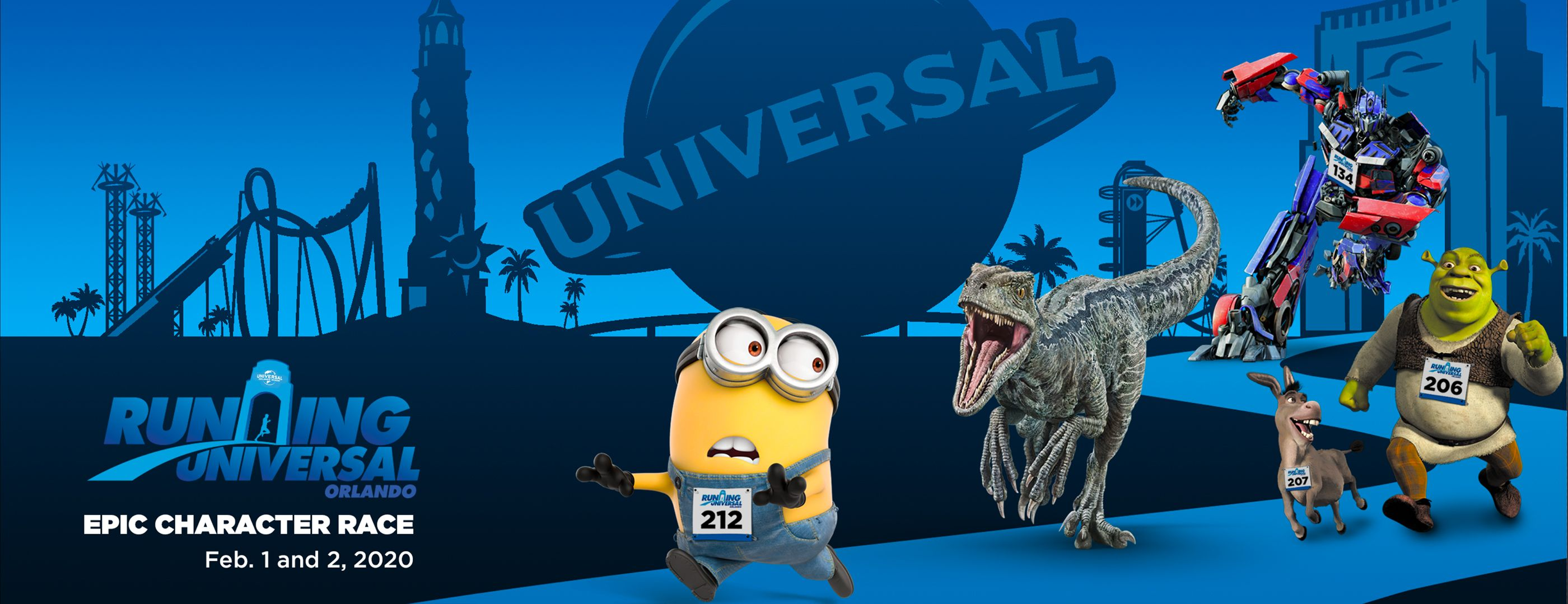 Universal Studios Prepares for an Epic Race Weekend in February