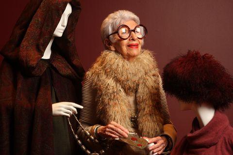 iris apfel wardrobe exhibit at the peabody essex museum