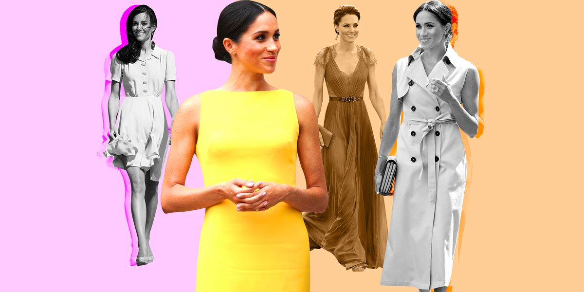 Meghan Markle And Kate Middletons Most Iconic Royal Fashions Ever