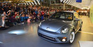 Volkswagen Beetle final Puebla