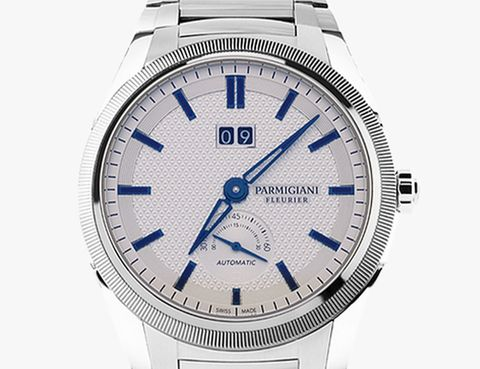 alpha watch hand on parmigiani