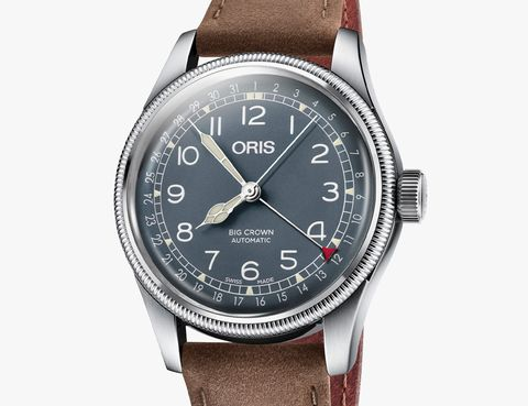 cathedral watch hand on oris