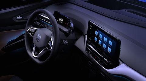 2021 volkswagen id4 interior