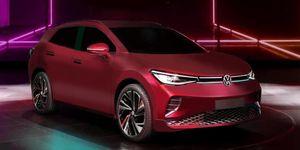 2020 VW ID.4 rendering