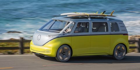 Electric Vw Microbus Coming In 2022