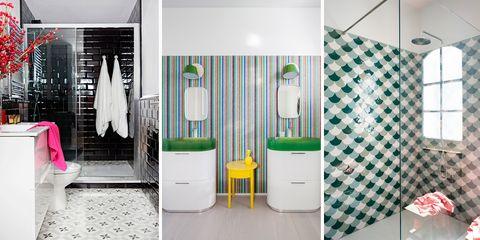 ideas con revestimientos para baños modernos