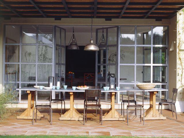 ideas para colocar cerramientos de cristal y ventanales en casa