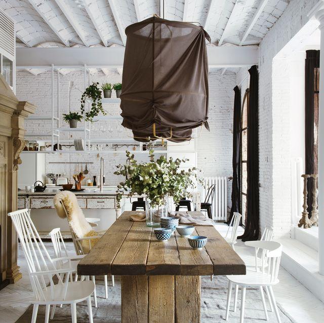 ideas para comedores con sillas diferentes