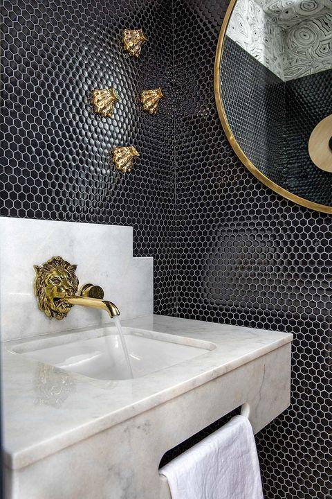 ideas de decoración para aseos de invitados