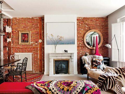 ideas de decoración para chimeneas