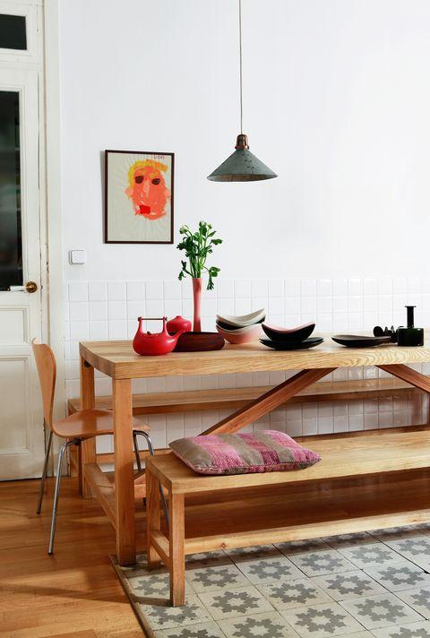 Ideas de decoración: 15 cocinas con bancos
