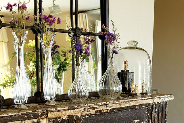 ideas para decorar con cristal