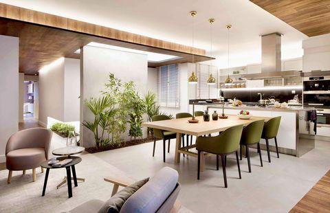 Las 10 claves para la distribuci n de un espacio abierto for Cocina salon espacio abierto