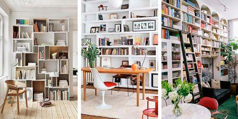 Ideas de decoración con librerías