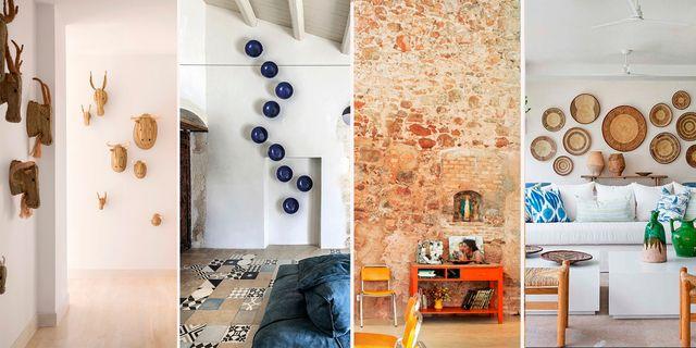 ideas para decorar las paredes de una casa de campo