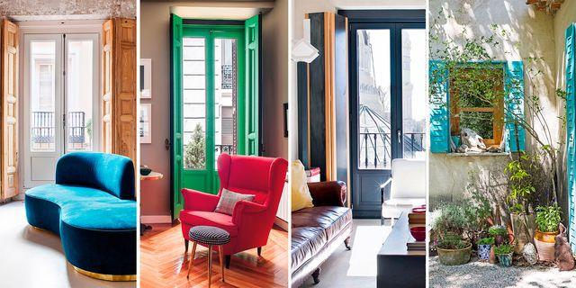 ideas para decorar la ventana con contraventanas y paneles