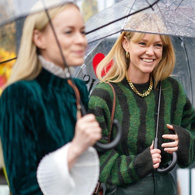 ideas looks lluvia   cómo vestir cuando llueve