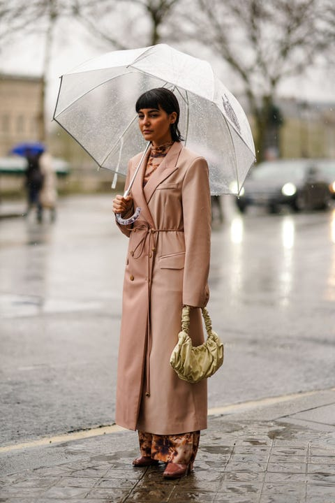 vestir con lluvia