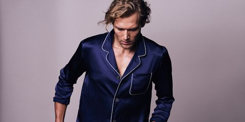 Clothing, Outerwear, Fashion, Hairstyle, Jacket, Suit, Blazer, Human, Denim, Sleeve,