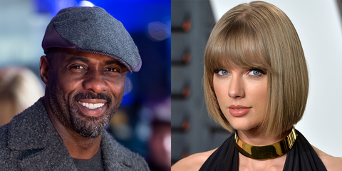 Idris Alba and Taylor Swift in Cats