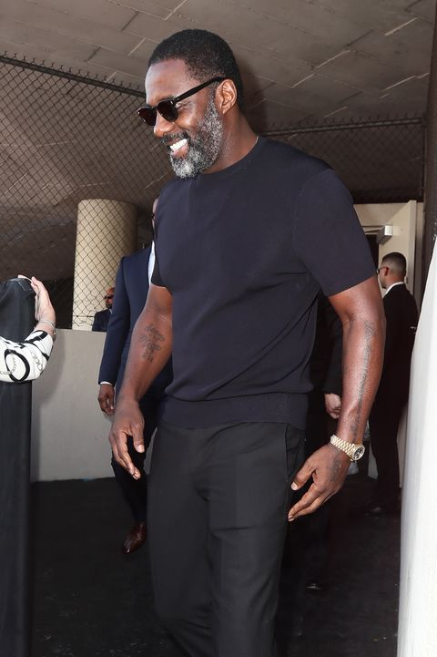Idris Elba Silver Fox