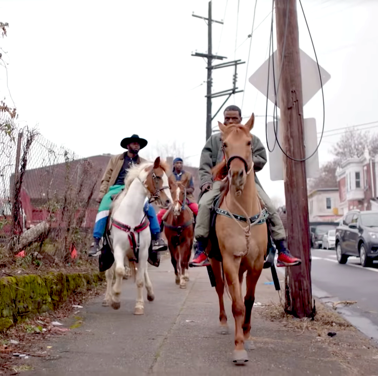 Idris Elba's Concrete Cowboys movie was inspired by this very real urban horse riding club