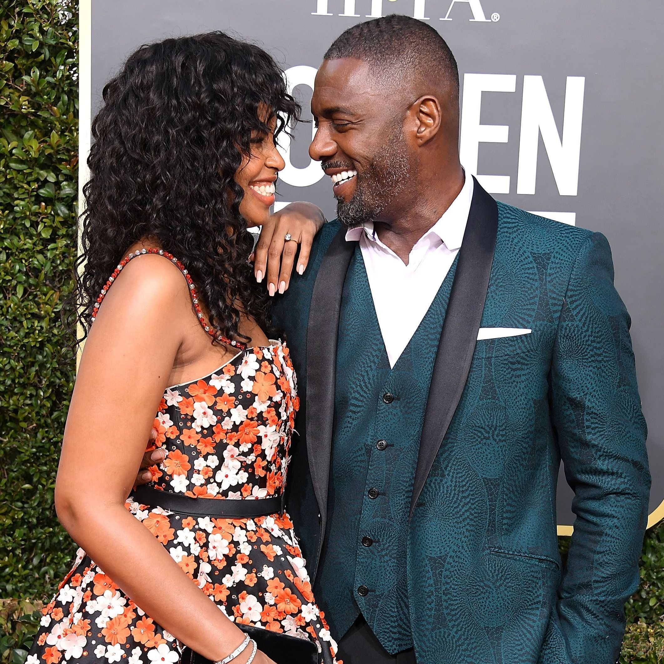 Luther star Idris Elba has married his girlfriend Sabrina Dhowre