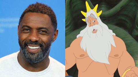 Idris Elba Tritón La Sirenita