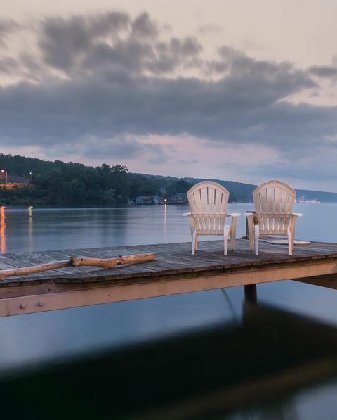 Idyllic Lake Seneca