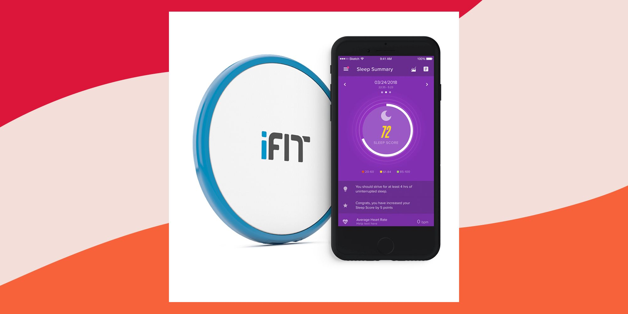 iFit Sleep HR: Up Your Sleep Game in 2020 With This Clever Little Device