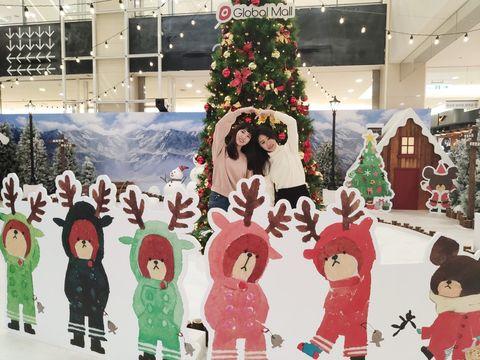 板橋Global Mall小熊學校聖誕