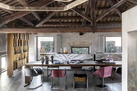 Italian home belonging to the owners of furniture brand Henge