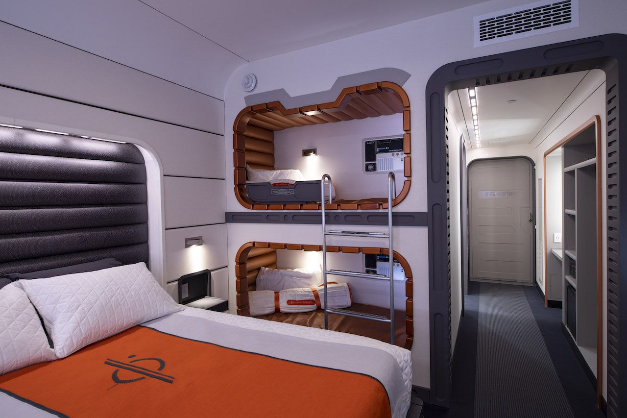 Disney Shared A Look At The Rooms Inside The Star Wars Hotel