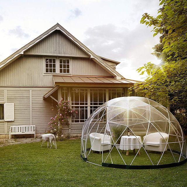 Ya puedes tener tu propia burbuja en el jardín