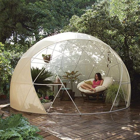 Iglú para jardín de Amazon