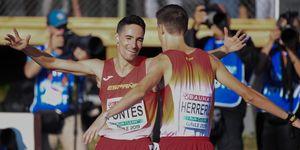 Ignacio Fontes, oro en 1.500m en el Europeo sub-23, y Enrique Herreros