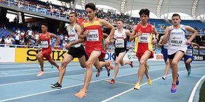 Ignacio Fontes en los 1.500m del Europeo sub-23