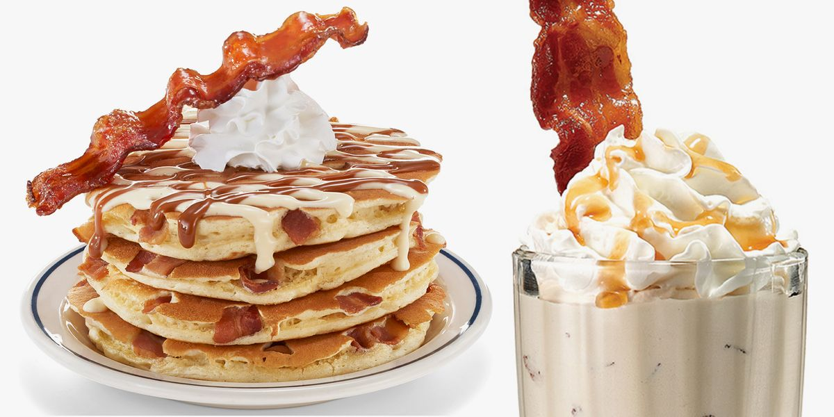 IHOP's New Bacon Obsession Menu Includes Dishes Like The Oreo 'N Bacon Waffle Sundae