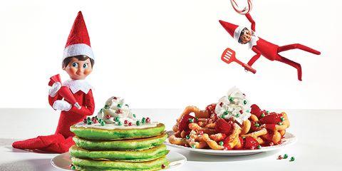 Christmas, Santa claus, Christmas eve, Food, Christmas tree, Fictional character, Christmas elf, Cuisine, Christmas decoration, Dish,
