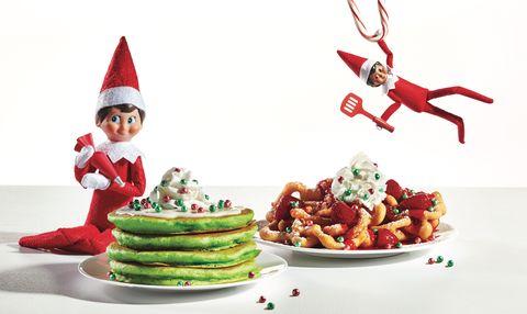Santa claus, Christmas, Food, Fictional character, Dish, Christmas elf, Christmas eve, Cuisine, Christmas decoration, Recipe,