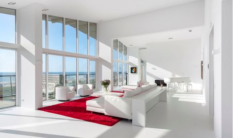 White, Interior design, Room, Property, Furniture, Building, House, Architecture, Living room, Table,