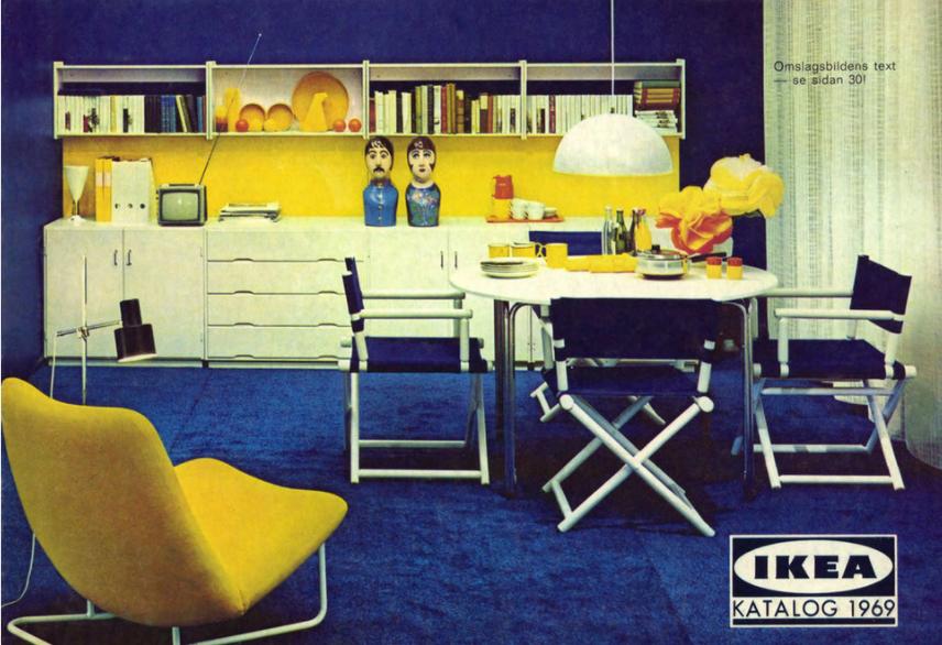 I cataloghi Ikea più belli degli ultimi 70 anni in mostra