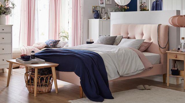 camas y cabeceros de ikea e ideas para distribuir el dormitorio