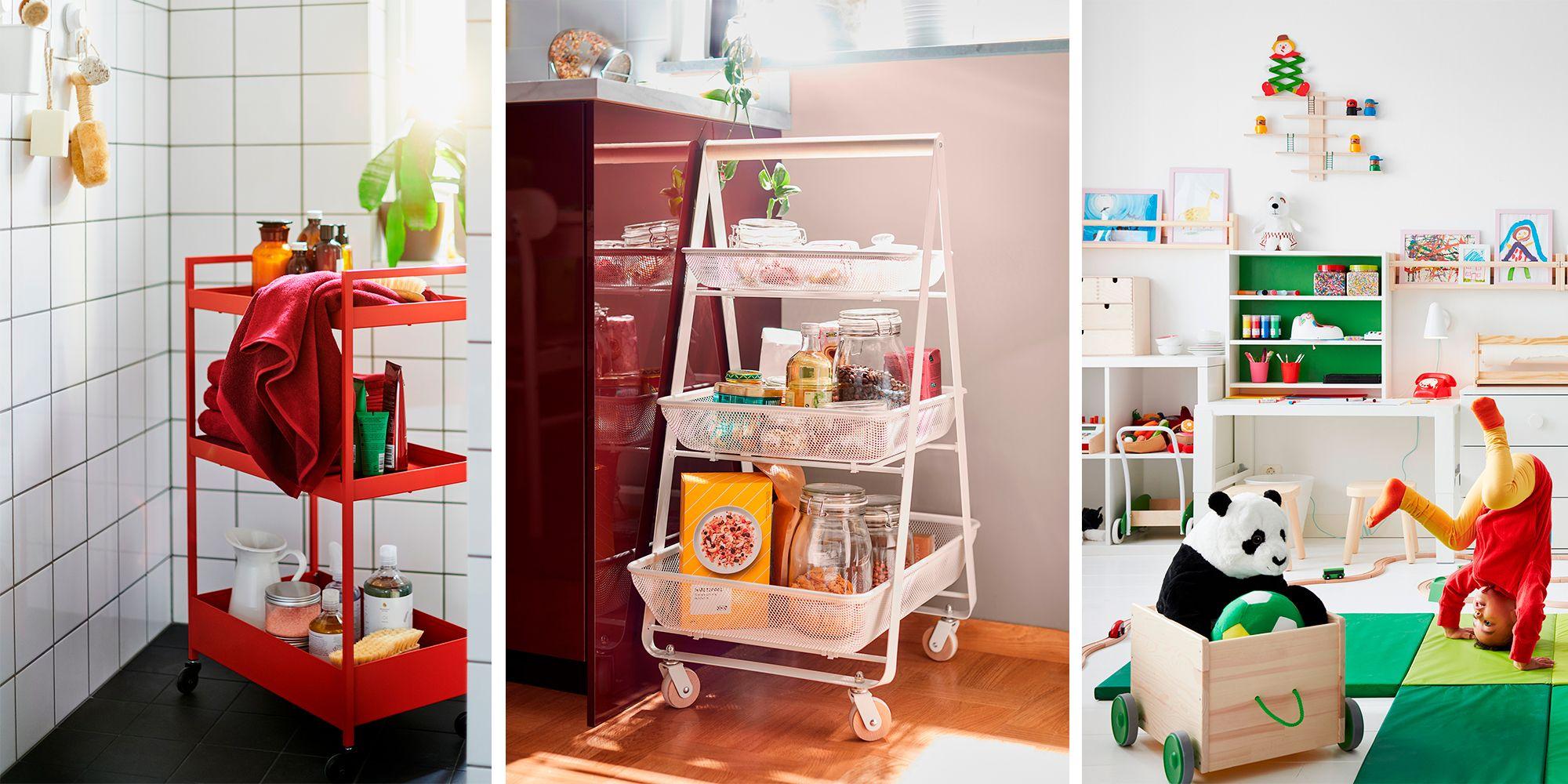 La pieza estrella del nuevo catálogo de Ikea: el carrito auxiliar