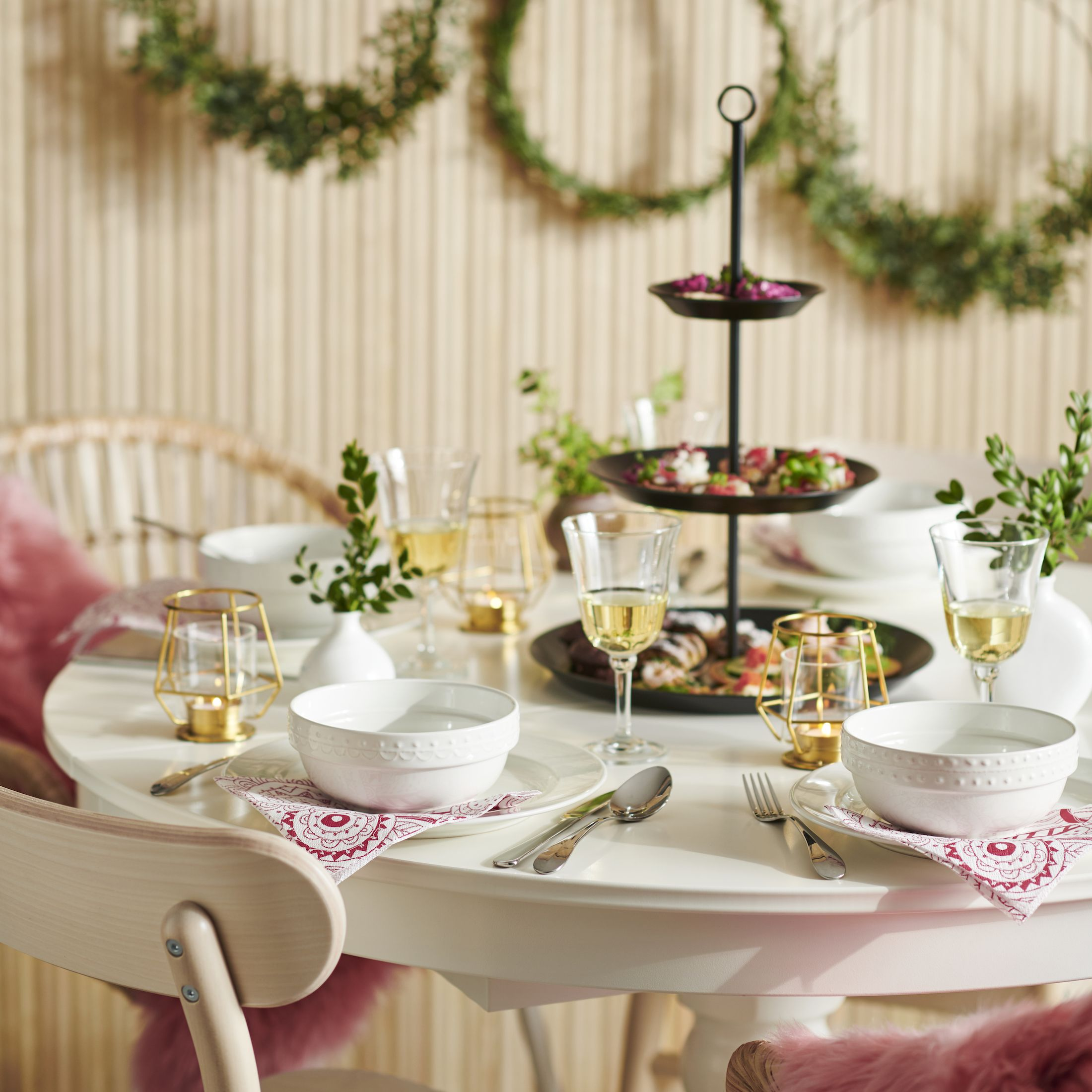 Ikea's VINTER collection is inspired by modern ways of celebrating the festive season