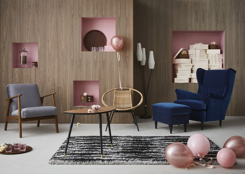 "IKEA's latest limited edition collection, ""Re-imagined Classics"""
