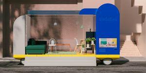 IKEA imagina así los coches autónomos creando negocios móviles